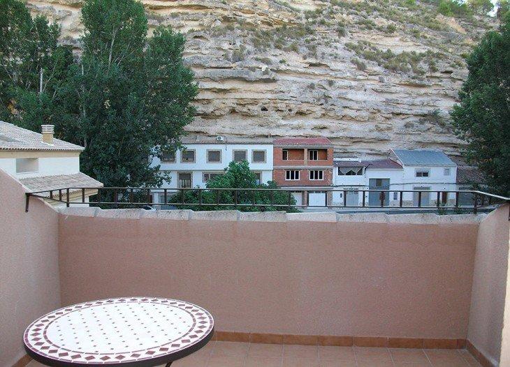 Vistas terraza suite Alcalá del Júcar